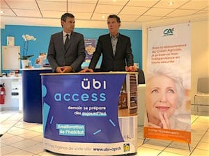 ubi access article credit agricole