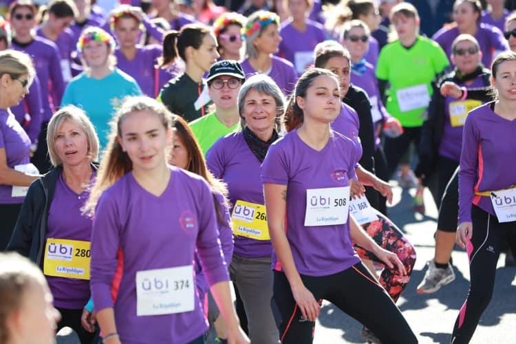 Ubi course féminine à Pau